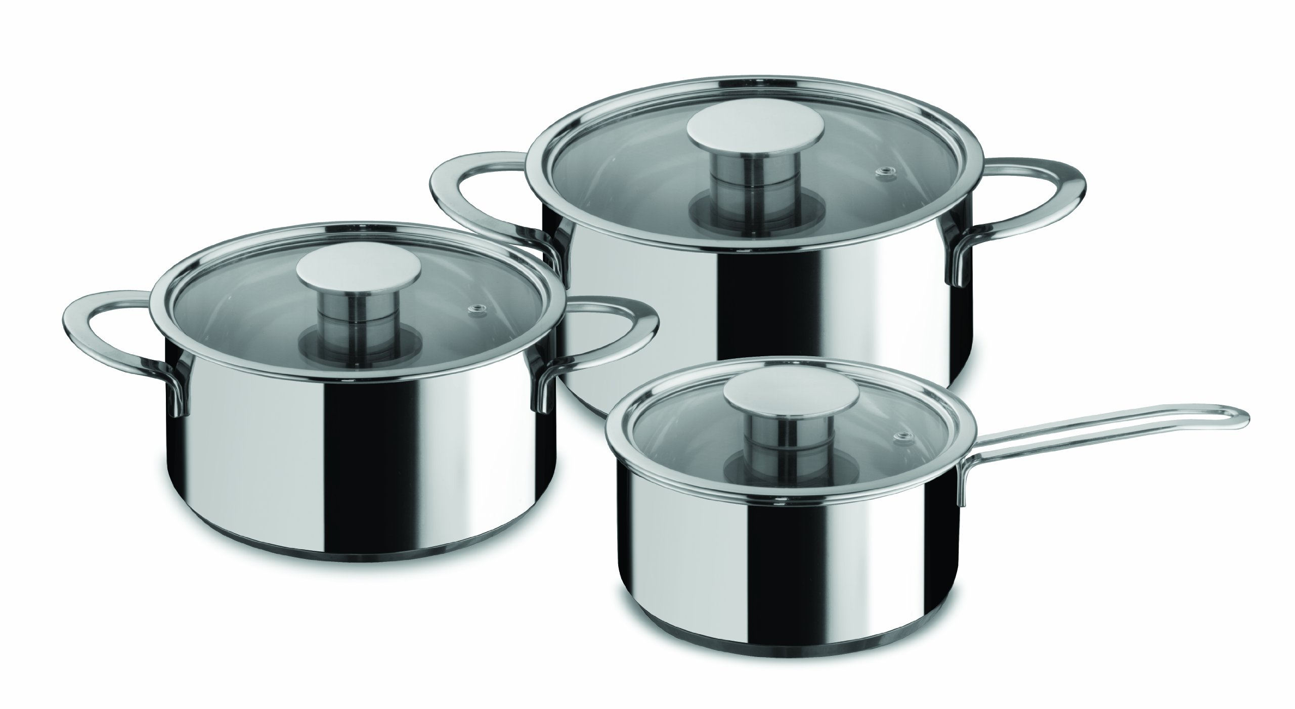 Mepra Gourmet 6-Piece Everyday Cookware Set by MEPRA
