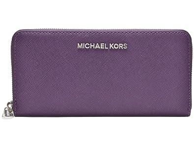 2e5e1fd36479 (マイケル マイケルコース) MICHAEL MICHAEL KORS 財布 長財布 ラウンドファスナー JET SET TRAVEL
