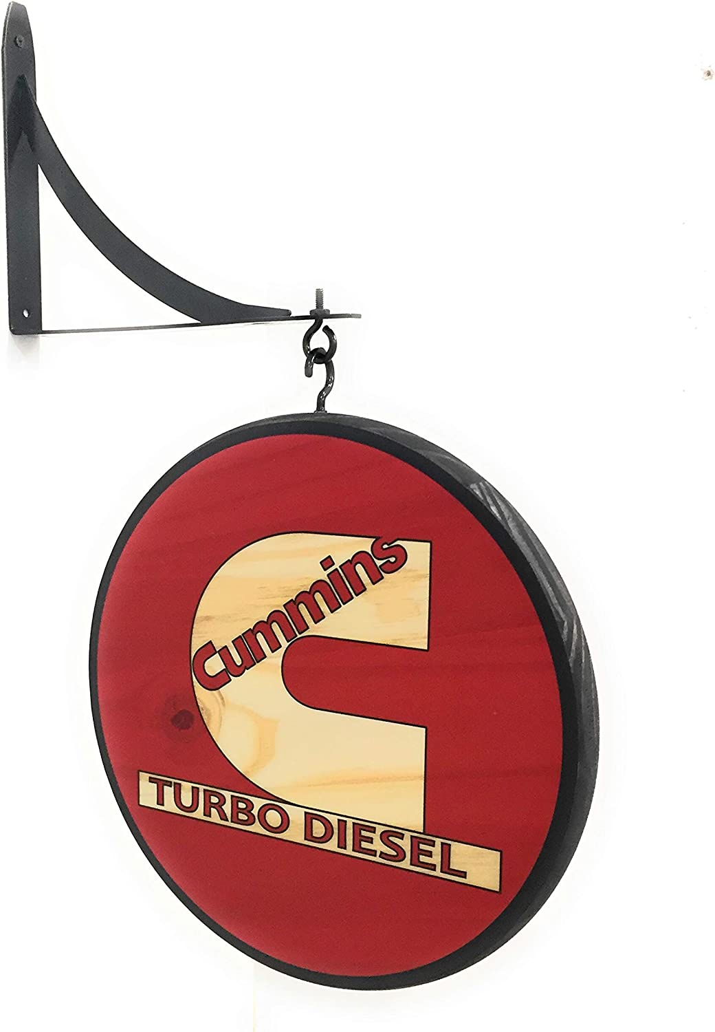 "Cummins Turbo Diesel 12"" Double Sided Pub Sign"