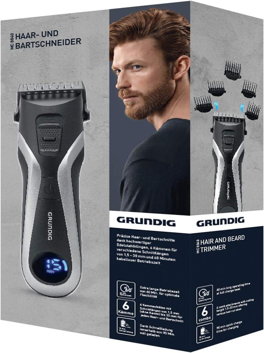 Grundig mc8840 mc8840 de pelo y barba, batería/Red: Amazon.es ...