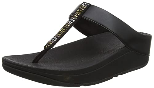 2f1eaed2a0ca Fitflop Women s Fino Strobe Thong Heels Sandals  Amazon.co.uk  Shoes ...
