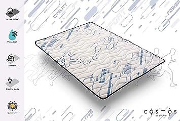 COSMOS Toppers COLCHONCILLO Modelo Sporty 150x200 cm VISCOÉLASTICA VISCO Gel® - Espuma DE Soporte Active Latex® - 3 CM: Amazon.es: Hogar