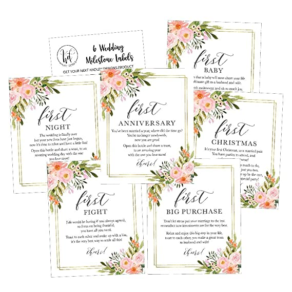 Review 6 Flower Wedding Milestones