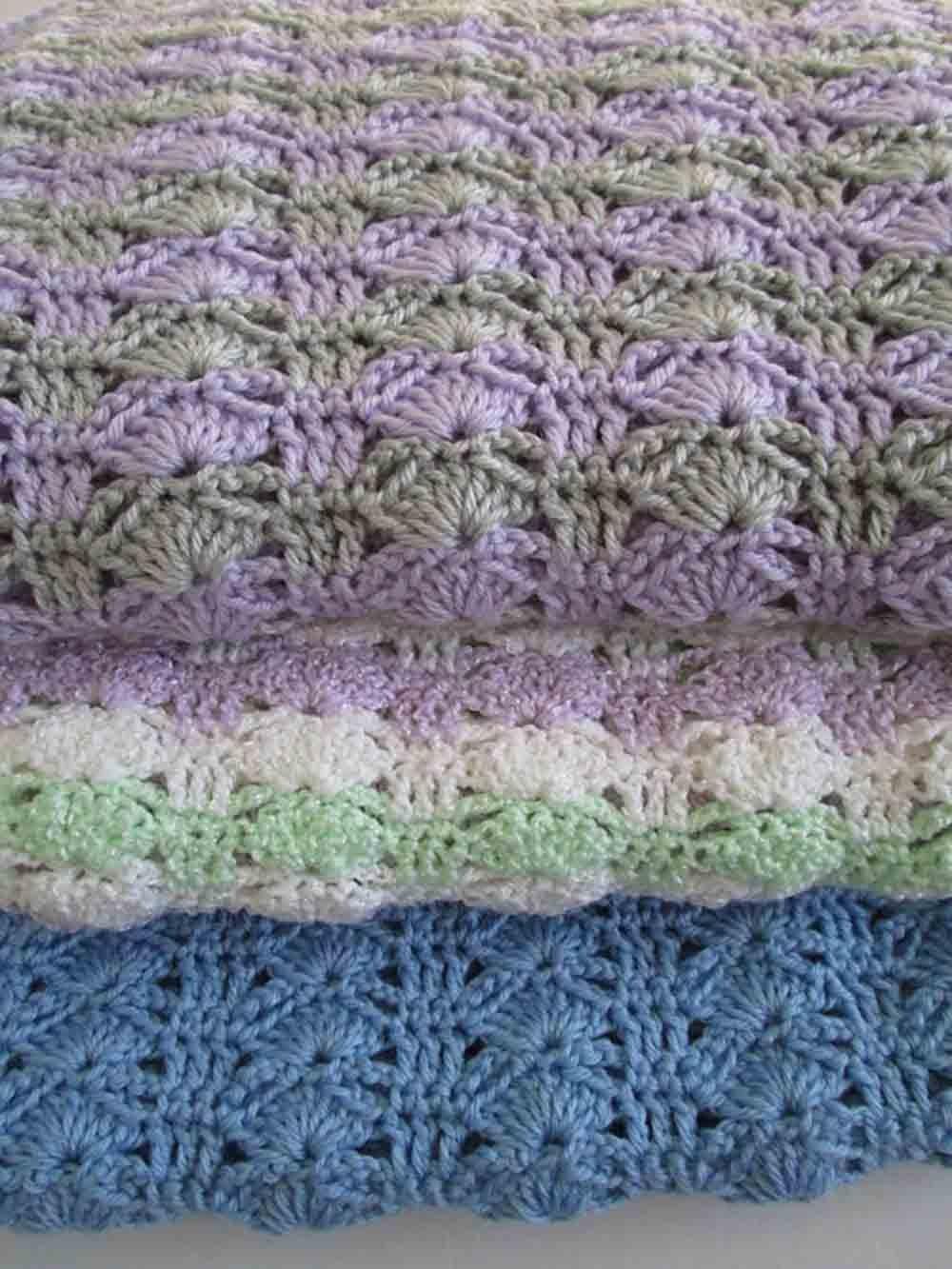 Amazon Easy Crochet Blanket Pattern Arching Shells Crochet