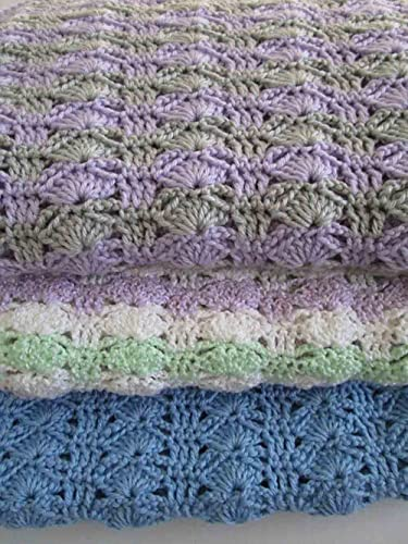 Amazon Com Easy Crochet Blanket Pattern Arching Shells Crochet