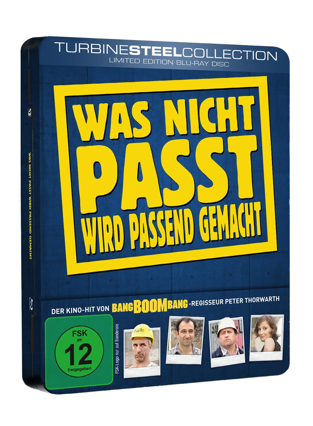 Was nicht passt wird passend gemacht (Limited Edition Blu-ray)