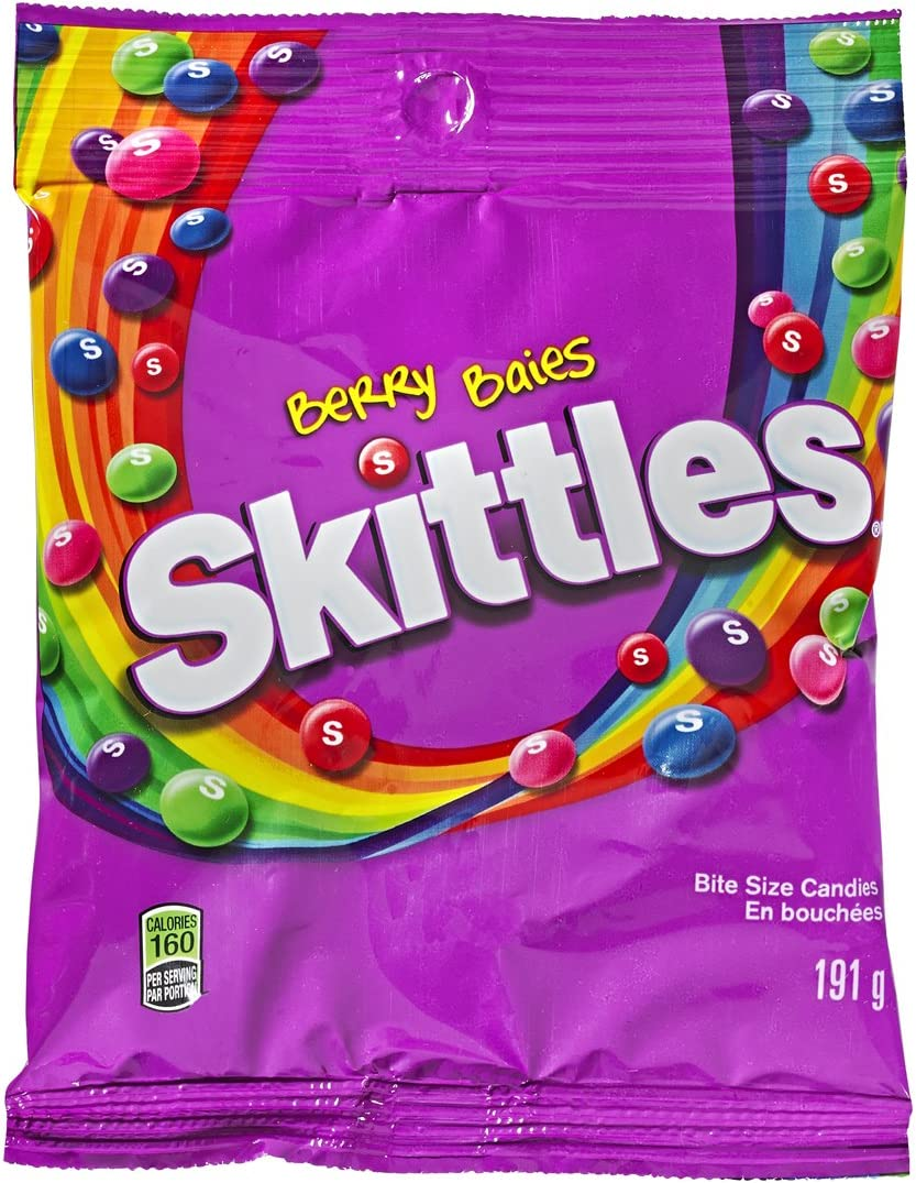 Skittles Berry Peg Bag 191gm 12 Count Amazon Ca Grocery