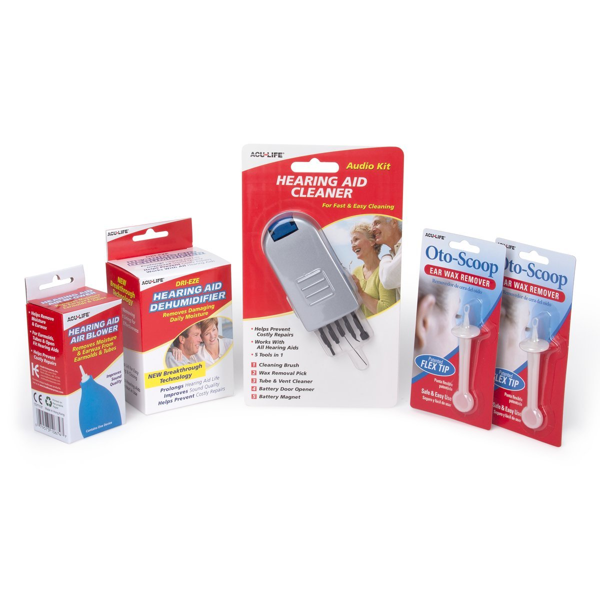 Acu-Life Hearing Aid Care Kit