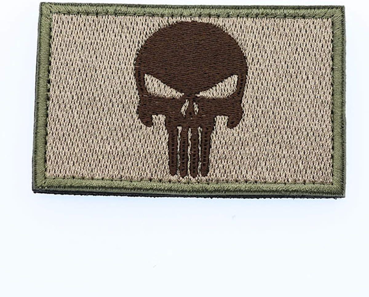 Cobra Tactical Solutions Bandera Flagge Irland Parche Bordado T/áctico Militar con Cinta de Gancho y Lazo de Airsoft Paintball Para Ropa de Mochila T/áctica