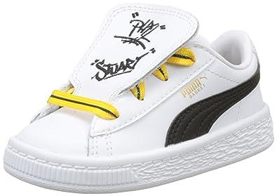 TongueSneakers X EnfantAmazon Basses Mixte Minions Basket Puma odexBCr