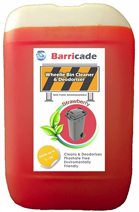 Barrera de 25L de basura limpiador y ambientador – Fresa