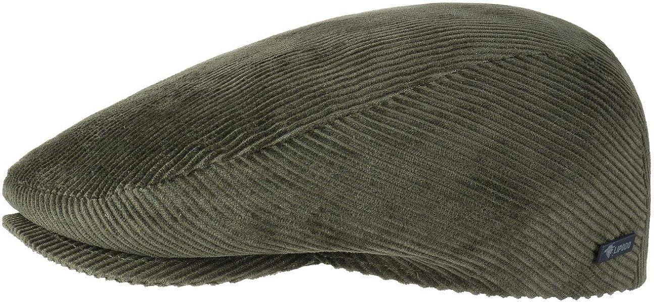 Lipodo Gorra Gatsby Cordial Algodón - Gorra de Pana de Hombre con Forro Acolchado para Invierno - Gorra Deportiva Tallas 49-61 cm
