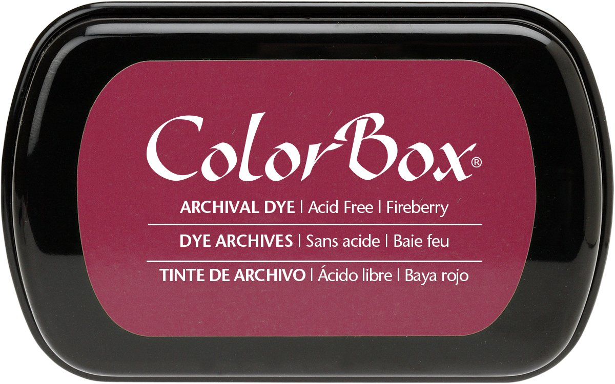 ColorBox Archival Dye Ink Full Size Inkpad, Fireberry Clearsnap Holding Inc. 27004