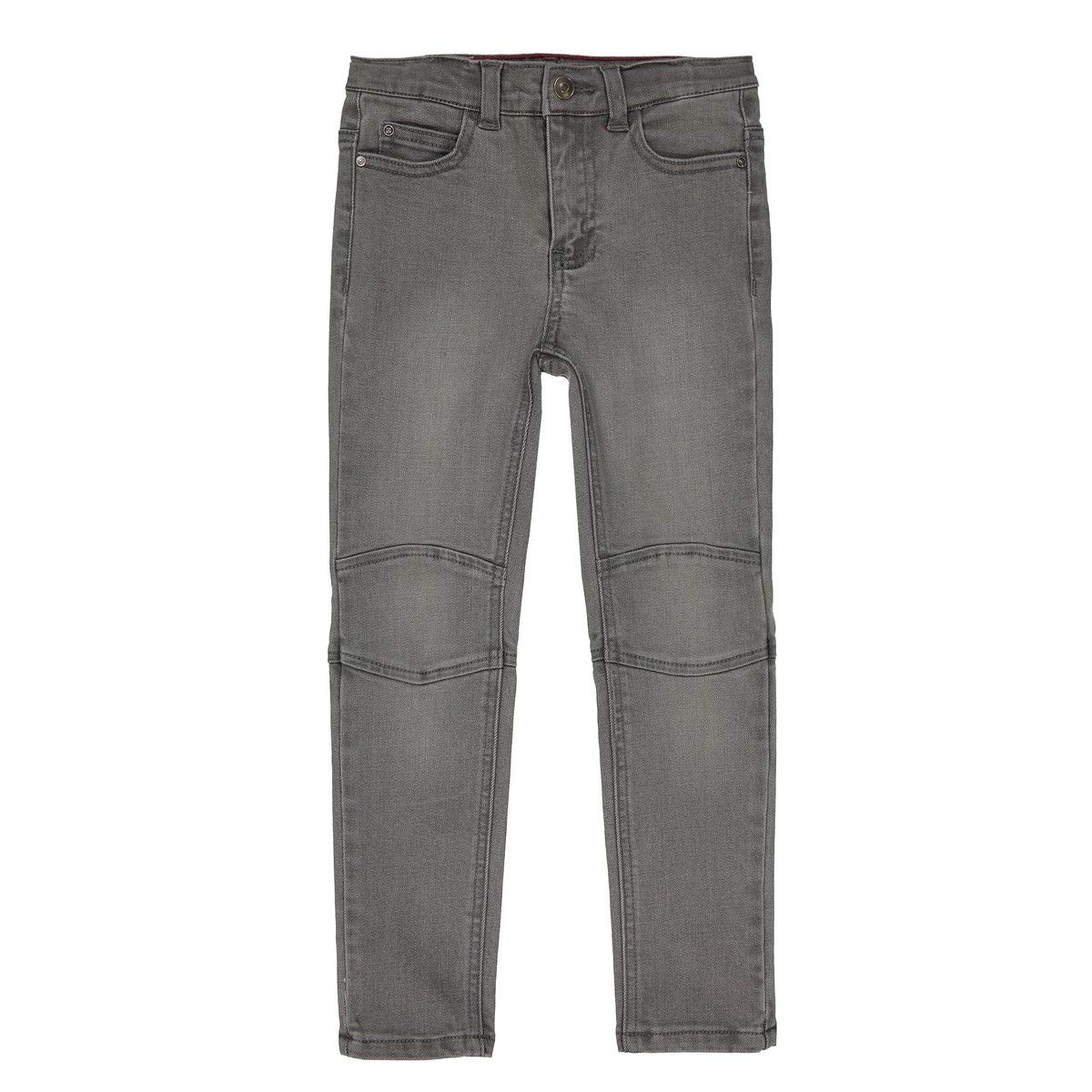 47 in. La Redoute Collections Big Boys Super Tough Slim Fit Jeans 3-12 Years Grey Size 7 Years