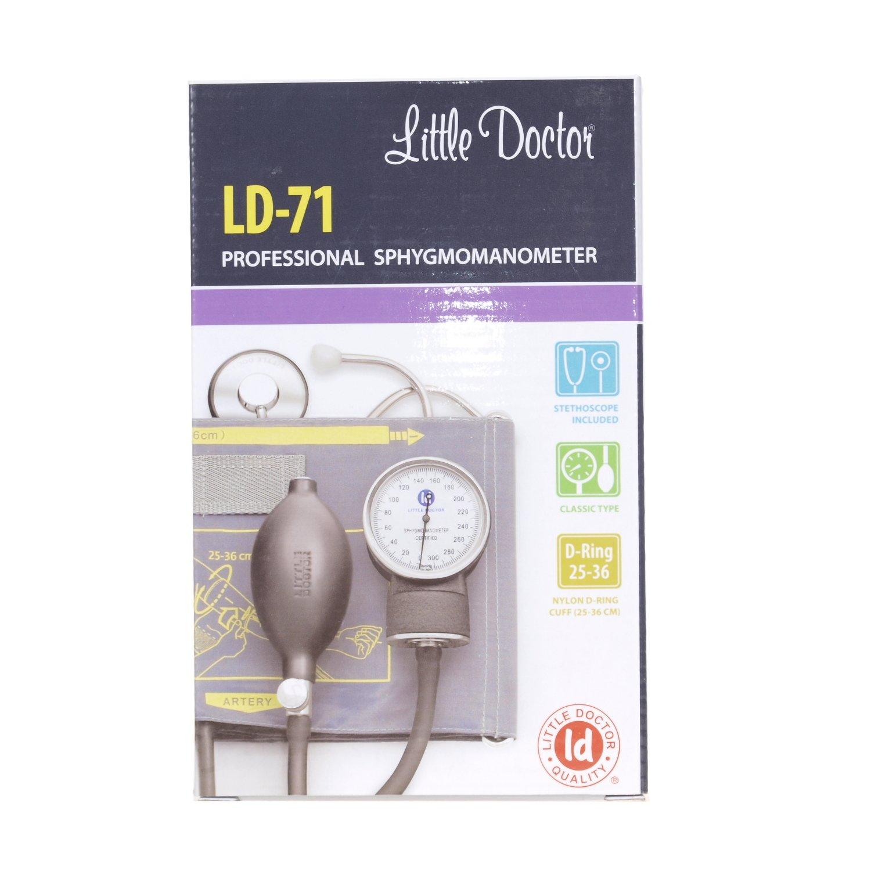 Little Doctor LD de 71 analógica Tensiómetro de brazo estetoscopio brazo: Amazon.es: Salud y cuidado personal