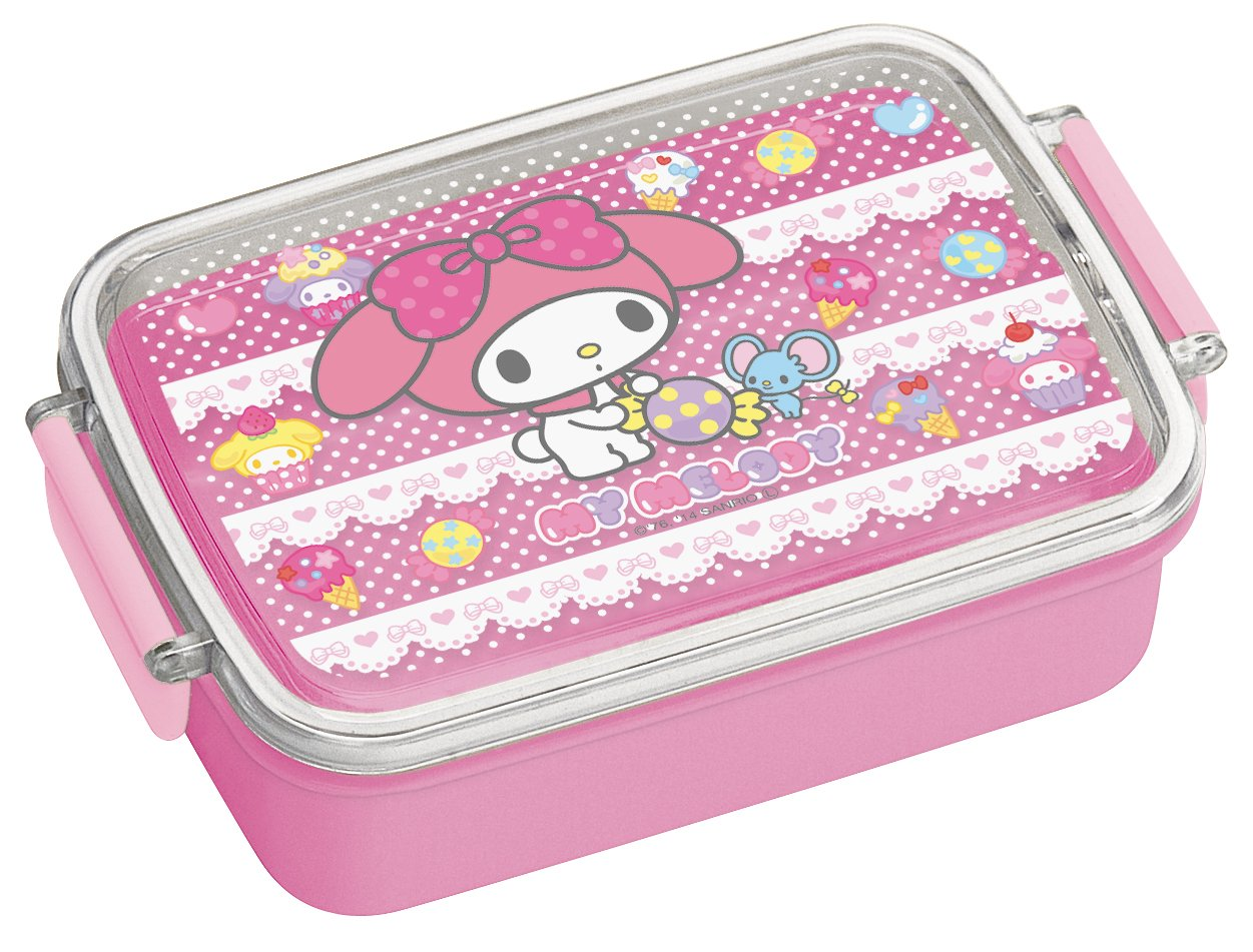 Sanrio Hello Kitty Design Microwavable Bento Lunch Box (Vol. 450ml) by My Melody