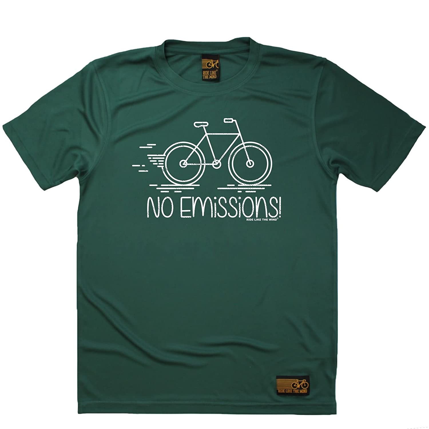 Premium Dry Fit Breathable Sports T-Shirt No Emissions Mens Cycling