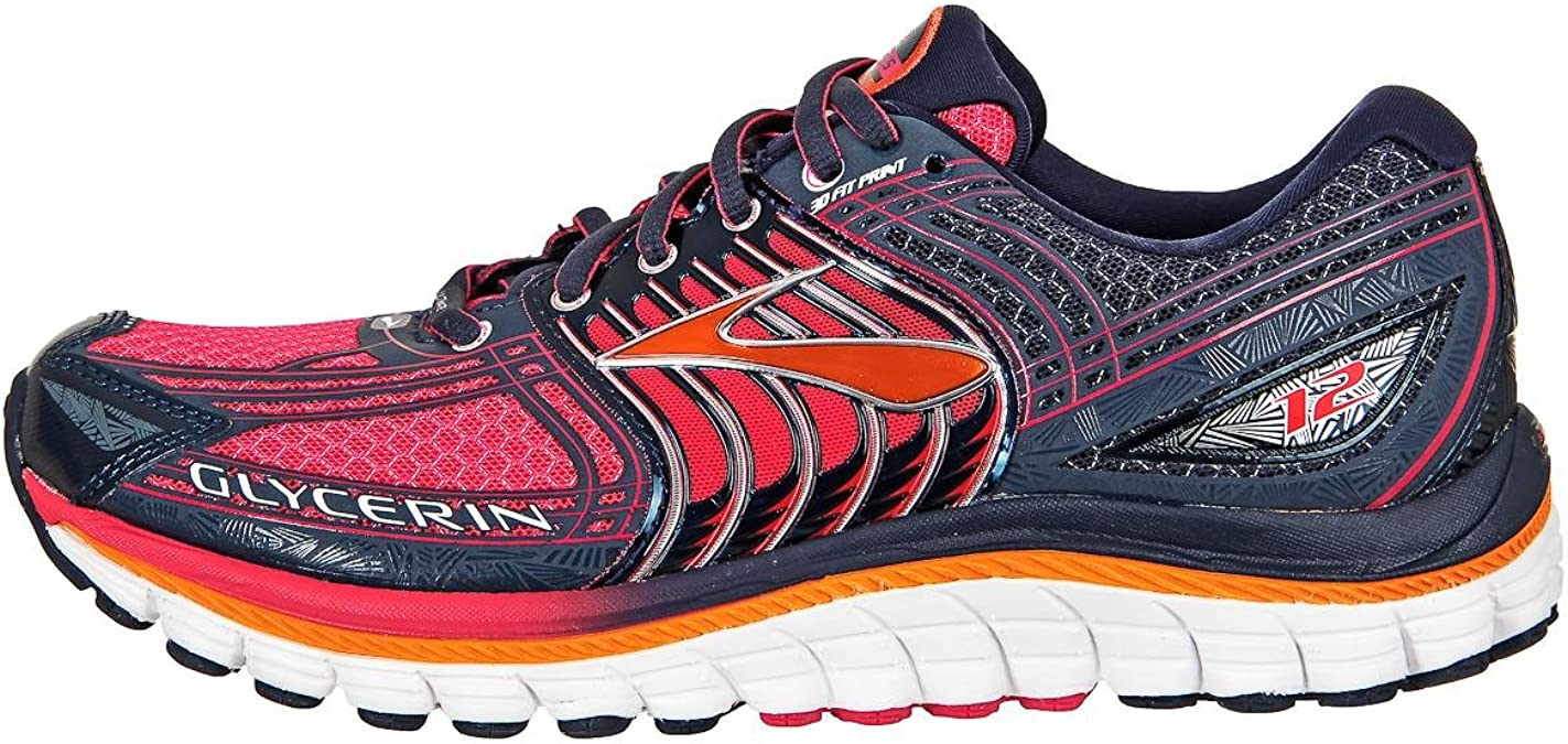 Brooks Mujer Glycerin 12 Zapatillas de Deporte, Mujer, 1201601B453, Raspberry, 38,5: Amazon.es: Deportes y aire libre
