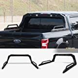 Stehlen 642167842484 Universal Adjustable Truck Bed Chase Rack Roll Bar with Side Rails Handle & 3rd Third Brake Light…