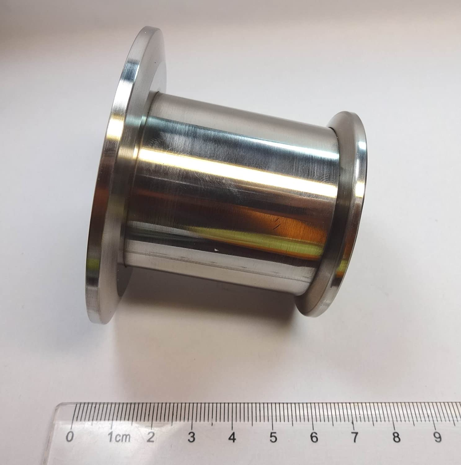 Vacuum Straight Reducer, NW/KF-50 to NW/KF-40, Vacuum Fitting, 304 Stainless Steel