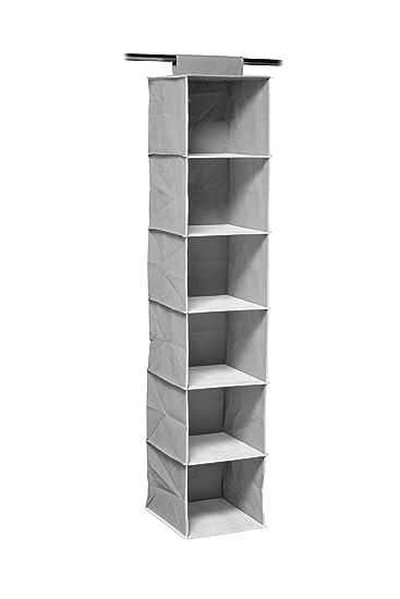 Regal Zum Aufhängen premier housewares regal zum aufhängen für bekleidung 6 fächer