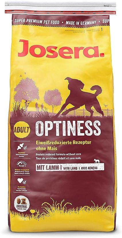 JOSERA Pack de Sacos de comida para Perro - Optiness, 5x900 g, Perro