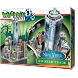 Wrebbit 3D Puzzle New York Collection World Trade District Puzzle