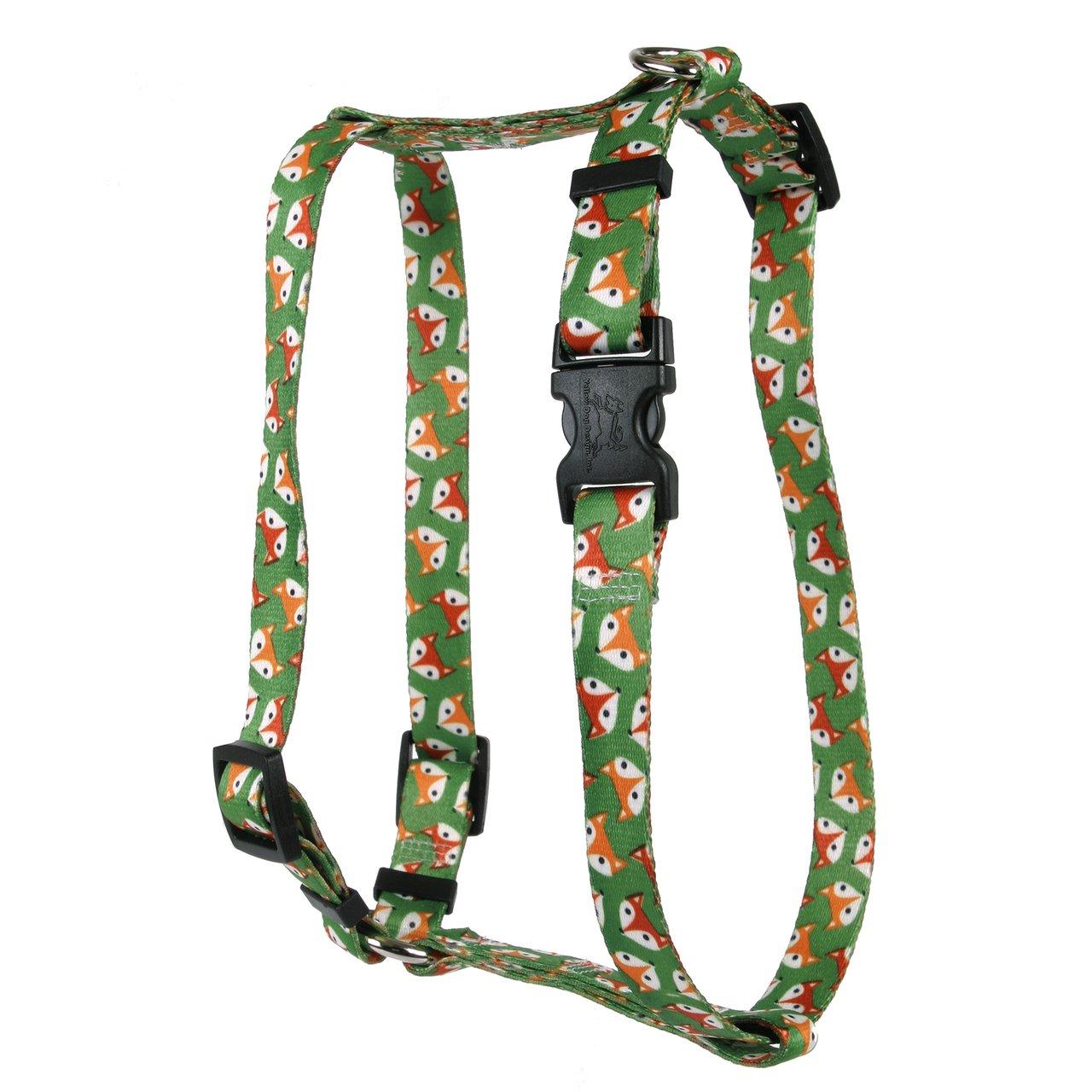 Yellow Dog Design FOXY Roman Style H Dog Harness, Small/Medium ...