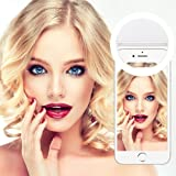 Selfie Ring Light,Yica 36 LED Lighting Outdoor Webcast Indispensable Supplementary Ring Light for Any Cell Phone / Tablet / Photography 3 Brightness Levels Adjustable
