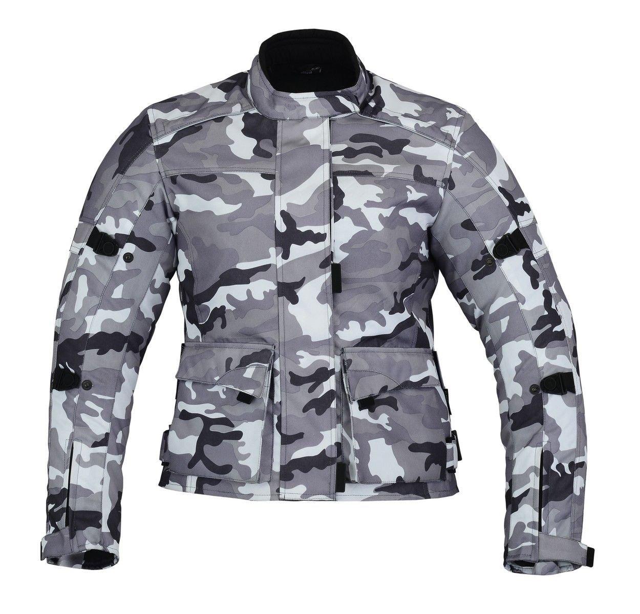 impermeable de camuflaje con protecciones CE camouflage 14 // L KYB Chaqueta para motocicleta