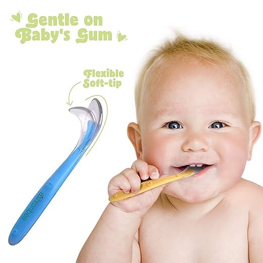 Amazon.com: Ashtonbee - Juego de cucharas para bebé ...