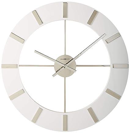 Amazon Com Howard Miller Pearl Clock Home Kitchen