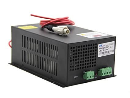 The Equipment Part Of 60w T60 Carbon Dioxide Laser Power Supply For Laser Cutting Machine Hair Extensions & Wigs