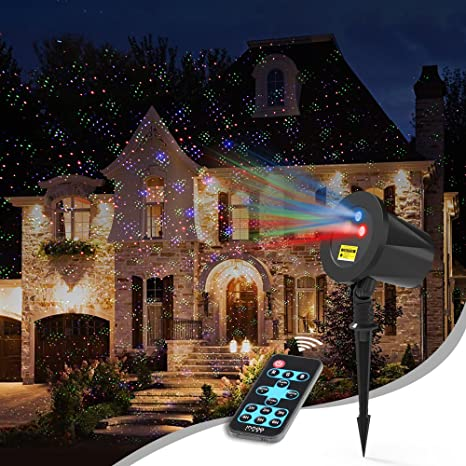 Laser Christmas Lights.Laser Christmas Lights Outdoor Aluminum Rgb Innoolight Christmas Holiday Lights With Rf Remote For Outdoor Garden Halloween Decoration