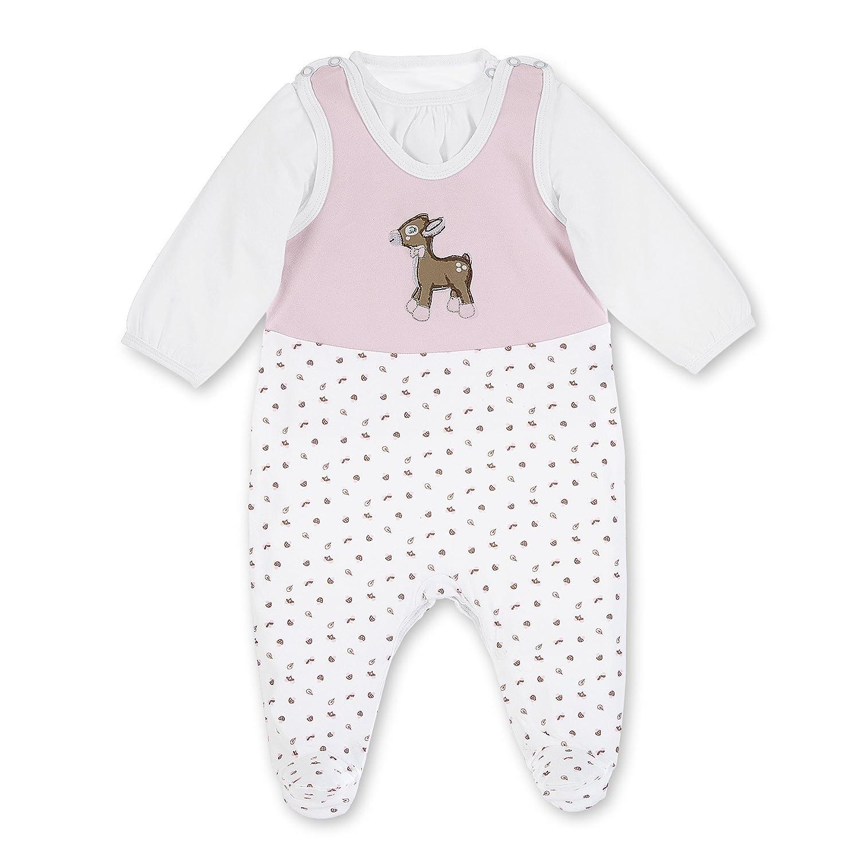 Sterntaler Baby-Mädchen Spieler Strampler-Set Jersey Waldis Ro 2601737