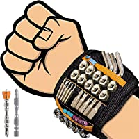 flintronic Magnetische Armband Met 20 Sterke Sterke Magneten Voor Het Vasthouden Van Schroeven, Spijkers, Boorbeitels, 2…