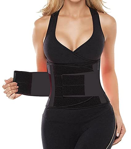 5bd922dfcf3  1 – Camellias Women s Waist Trainer Belt – Body Shaper Belt for an  Hourglass Shaper