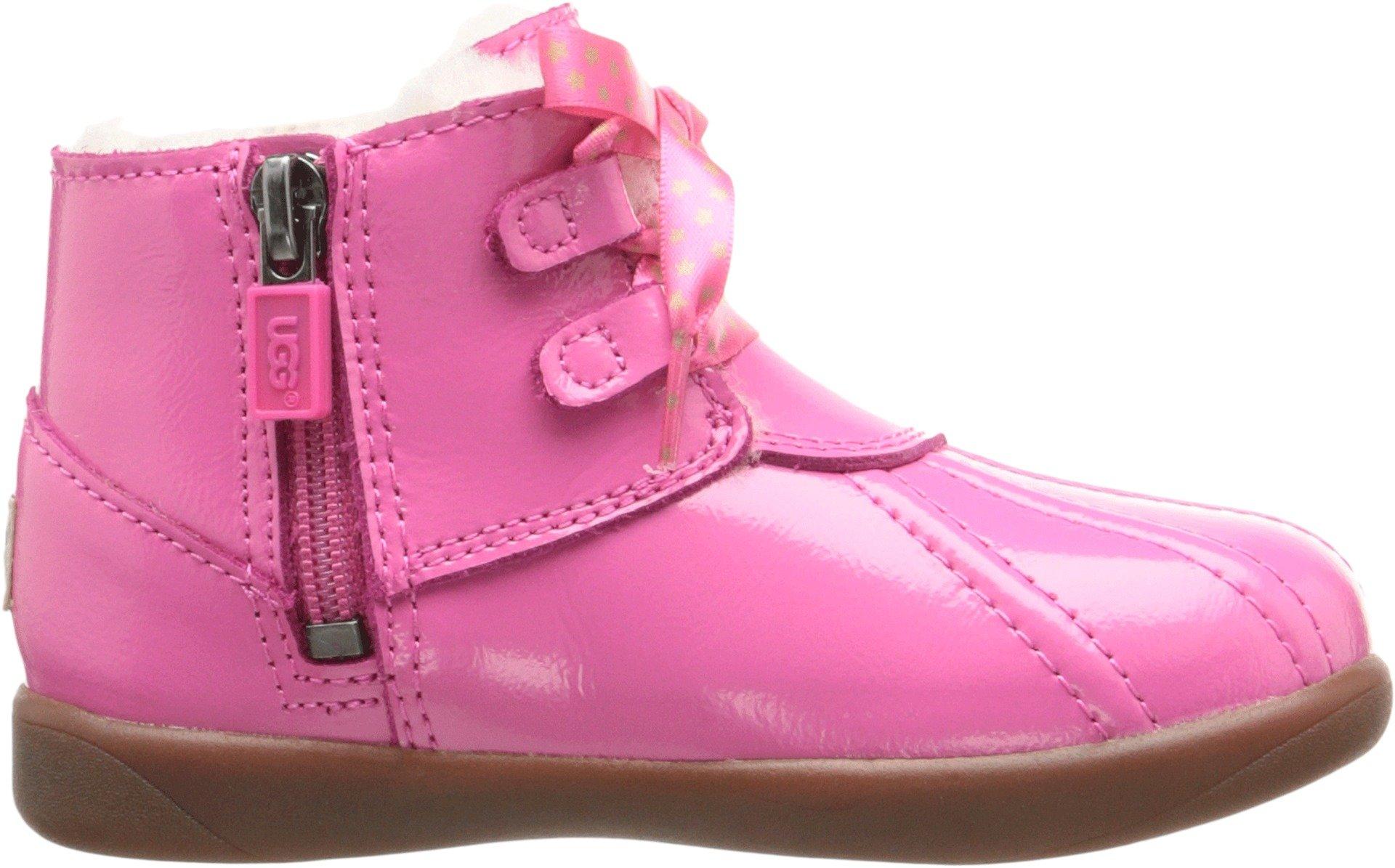 UGG Kids Baby Girl's Payten Stars (Toddler) Diva Pink Boot 9.5 Toddler M