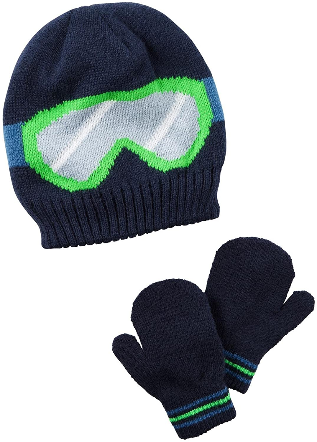 Carter's Baby Boys' Winter Hat-Glove Sets D08g033 Carters