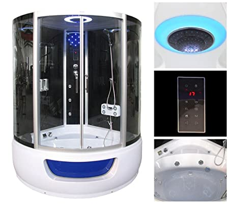 Bath/Shower/Exclusio/Whirlpool | Steam Sauna All in One System ...