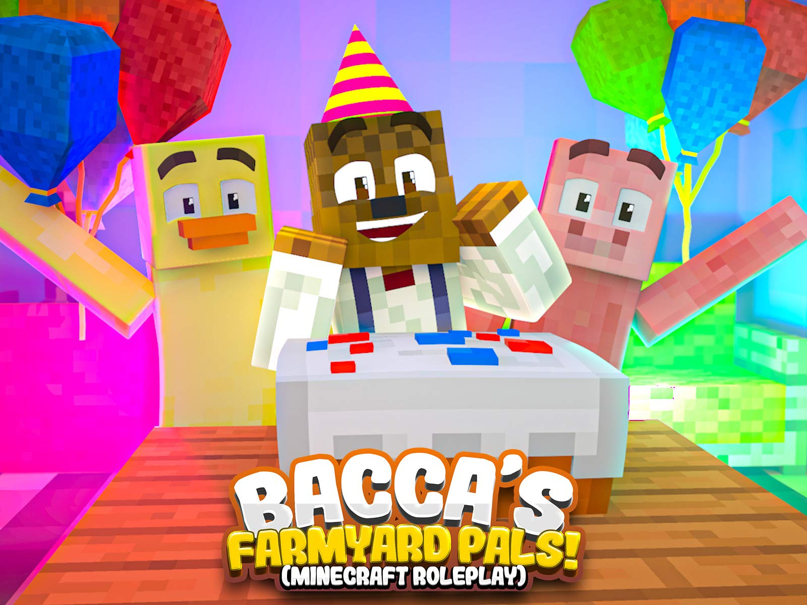 Clip: Bacca's Farmyard Pals! (Minecraft Roleplay) - Season 5