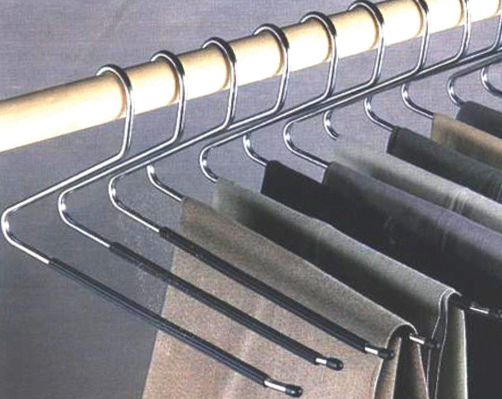 IdeaWorks Pant Organizer Slack Hangers, Multi