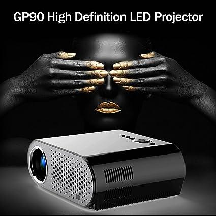Pantalla LCD de 200 Pulgadas proyector proyector Mini Home ...