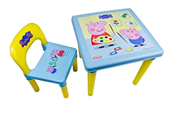 Peppa Pig DARP-CPEP016 My First Activity Table and Chair Set Creative Activity Kit (  sc 1 st  Amazon UK & Peppa Pig DARP-CPEP016 My First Activity Table and Chair Set ...