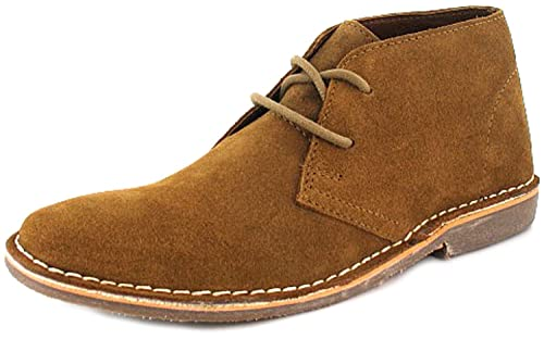 discount dirt cheap affordable price Red Tape - Chaussure Montante Homme Daim Marron Clair Rouge ...