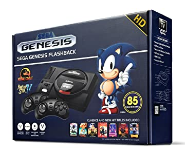 Amazon | Sega Genesis Flashback HD 2017 Console セガジェネシスフラッシュバックHD 2017コンソール 北米英語版 [並行輸入品] | その他の機種