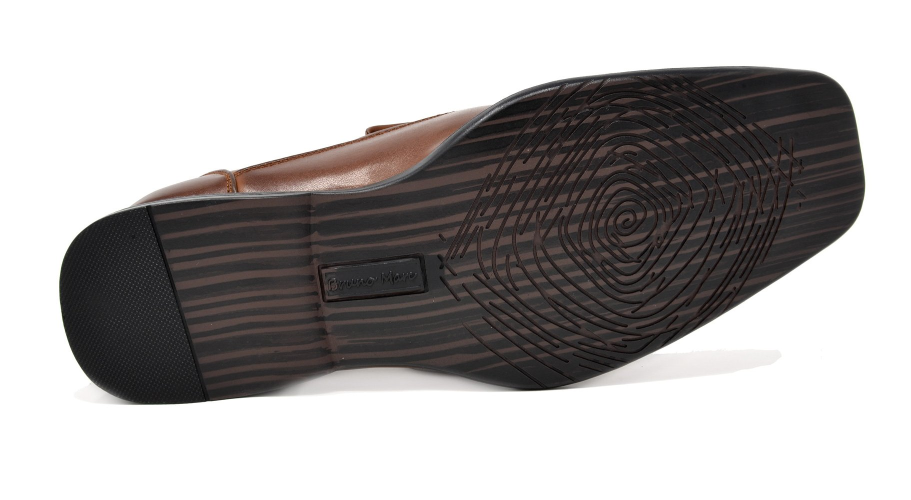 Bruno Marc Men's Giorgio-1 Brown Leather Lined Dress Loafers Shoes - 11 M US by BRUNO MARC NEW YORK (Image #7)