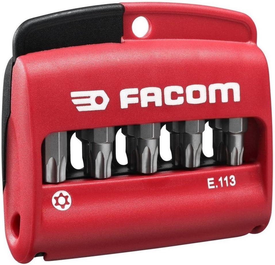 1 St/ück in Box FACOM E.113 Bit-Satz Resistorx 10-tlang