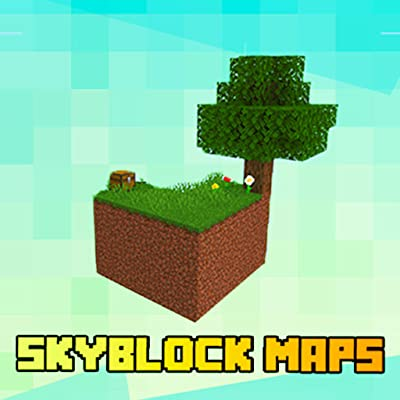 SkyBlock Pixel Map For Minecraft PE