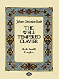 The Well-Tempered Clavier: Books I and II, Complete (Dover Music for Piano)